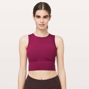 Lululemon Kick Serve Sweat Bra